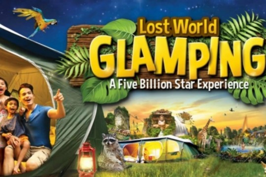 LOST WORLD OF TAMBUN GLAMPING - FAMILY PACKAGE (2A & 2C)